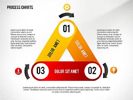 Process Charts Collection, Slide 7, 02570, Process Diagrams — PoweredTemplate.com