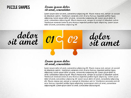 Puzzle Options Toolbox, Slide 4, 02571, Puzzle Diagrams — PoweredTemplate.com