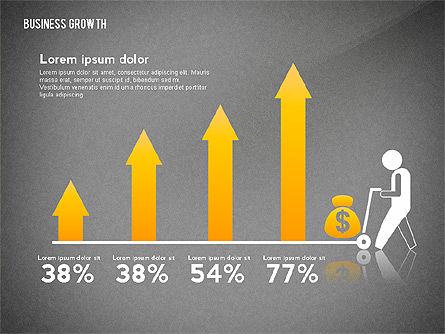 Business Growth with Stickman, Slide 16, 02572, Business Models — PoweredTemplate.com
