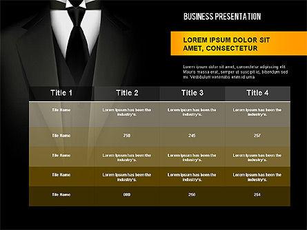 Strong Presentation Template, Slide 16, 02577, Presentation Templates — PoweredTemplate.com