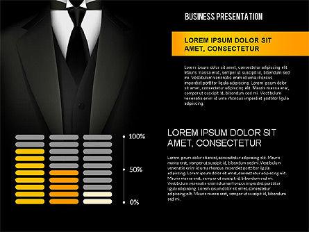 Strong Presentation Template, Slide 7, 02577, Presentation Templates — PoweredTemplate.com