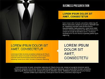 Strong Presentation Template, Slide 8, 02577, Presentation Templates — PoweredTemplate.com