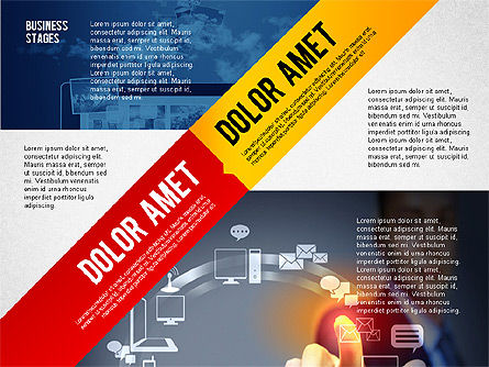 Business Stages and Options, Slide 3, 02578, Presentation Templates — PoweredTemplate.com