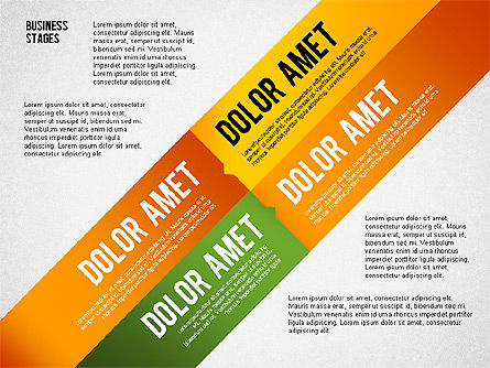 Business Stages and Options, Slide 4, 02578, Presentation Templates — PoweredTemplate.com