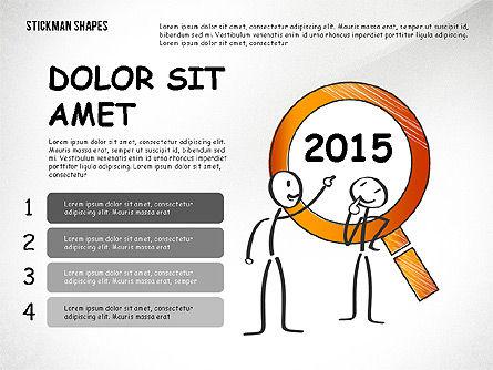 Presentation Templates: Presentation with Stickman #02580