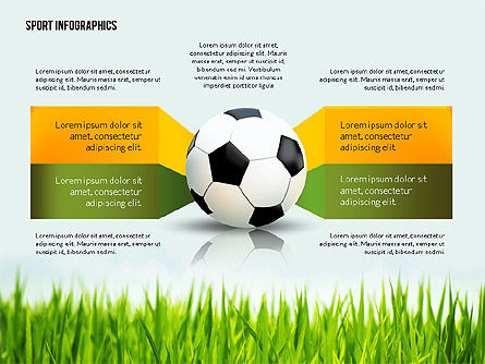 Soccer Staged Options, Slide 2, 02581, Infographics — PoweredTemplate.com
