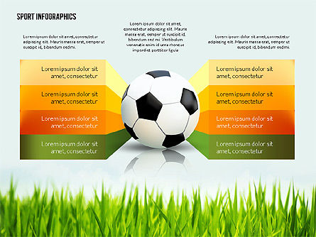 Soccer Staged Options, Slide 4, 02581, Infographics — PoweredTemplate.com