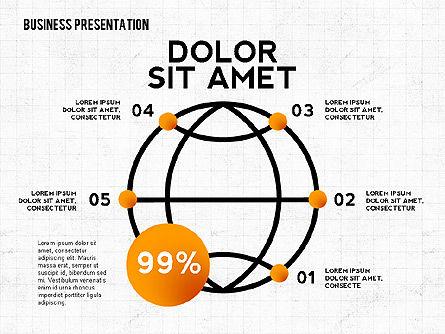 Business Growth Presentation Concept, Slide 2, 02583, Presentation Templates — PoweredTemplate.com