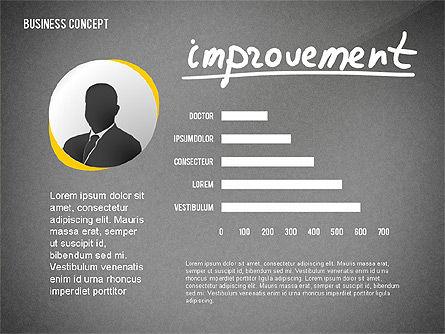 Questions Presentation Concept, Slide 12, 02585, Presentation Templates — PoweredTemplate.com