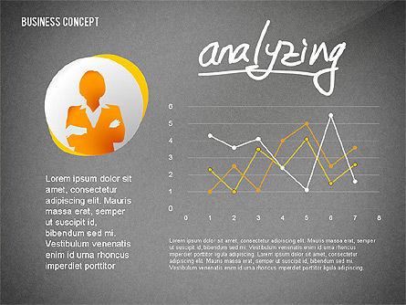 Questions Presentation Concept, Slide 14, 02585, Presentation Templates — PoweredTemplate.com