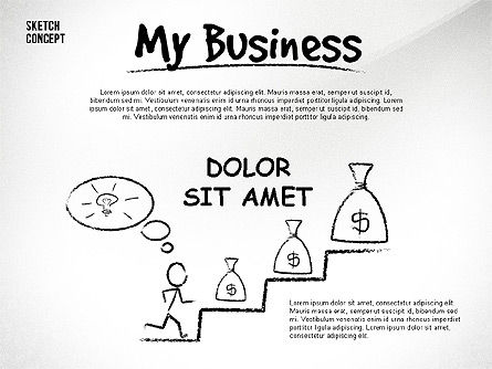 Presentation Templates: Présentation de mon entreprise #02587