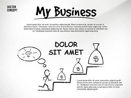 Presentation Templates: 我的业务介绍 #02587