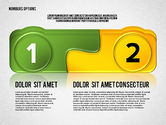 Stage Diagrams: Opzioni colorate con i numeri #02588