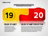Colored Options with Numbers#10