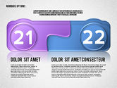 Colored Options with Numbers#11