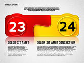 Colored Options with Numbers#12