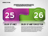 Colored Options with Numbers#13
