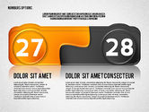 Colored Options with Numbers#14