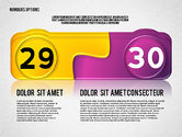 Colored Options with Numbers#15