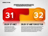 Colored Options with Numbers#16