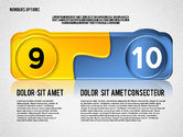Colored Options with Numbers#5