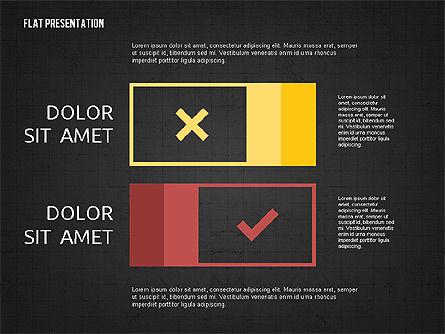 Flat Presentation Toolbox, Slide 16, 02589, Icons — PoweredTemplate.com