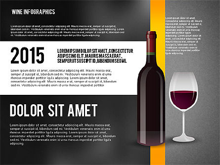 Wine Infographics, Slide 10, 02590, Infographics — PoweredTemplate.com
