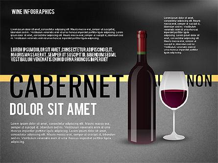 Wine Infographics, Slide 12, 02590, Infographics — PoweredTemplate.com