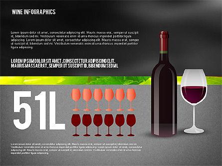 Wine Infographics, Slide 13, 02590, Infographics — PoweredTemplate.com