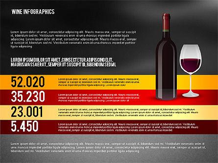 Wine Infographics, Slide 14, 02590, Infographics — PoweredTemplate.com