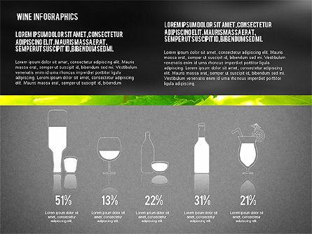 Wine Infographics, Slide 16, 02590, Infographics — PoweredTemplate.com
