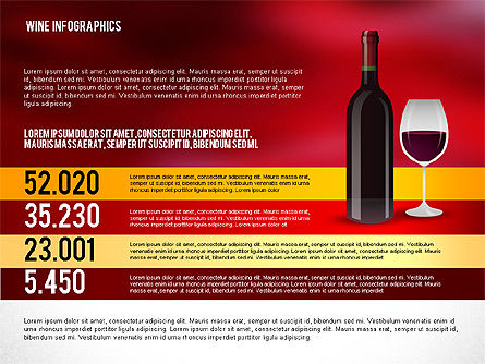 Wine Infographics, Slide 6, 02590, Infographics — PoweredTemplate.com