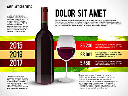 Wine Infographics, Slide 7, 02590, Infographics — PoweredTemplate.com