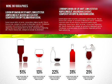 Wine Infographics, Slide 8, 02590, Infographics — PoweredTemplate.com