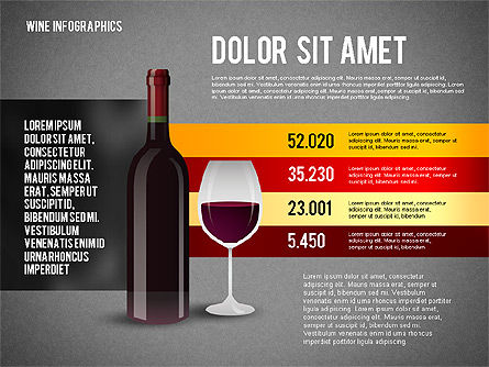 Wine Infographics, Slide 9, 02590, Infographics — PoweredTemplate.com