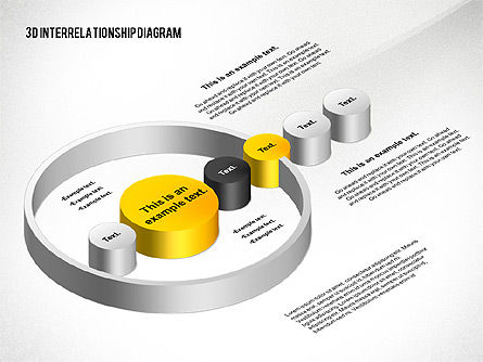 Business Models: 3D Interrelationship Diagram #02591