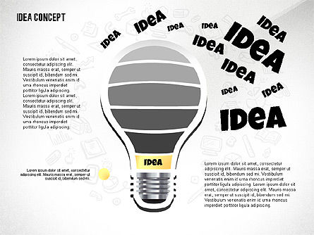 From Idea to Success Concept, Slide 3, 02592, Presentation Templates — PoweredTemplate.com