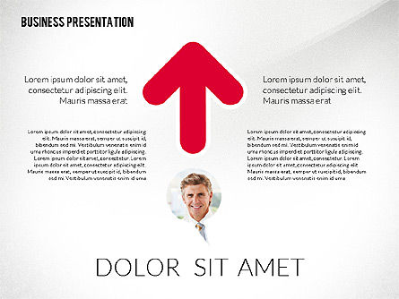 Company Presentation in Flat Design Style, Slide 4, 02594, Presentation Templates — PoweredTemplate.com