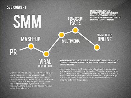 SEO Concept Presentation Template, Slide 11, 02595, Presentation Templates — PoweredTemplate.com