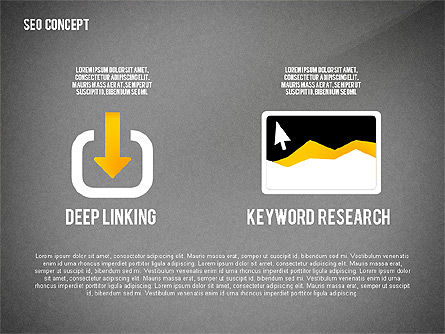 SEO Concept Presentation Template, Slide 12, 02595, Presentation Templates — PoweredTemplate.com