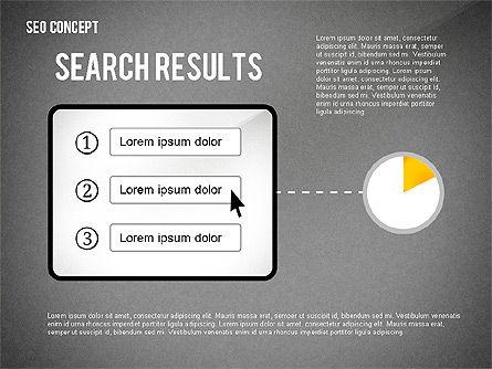 SEO Concept Presentation Template, Slide 14, 02595, Presentation Templates — PoweredTemplate.com