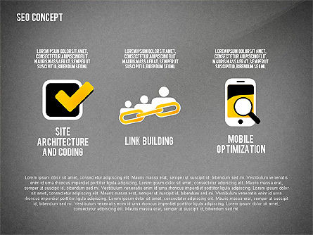 SEO Concept Presentation Template, Slide 15, 02595, Presentation Templates — PoweredTemplate.com