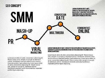 SEO Concept Presentation Template, Slide 3, 02595, Presentation Templates — PoweredTemplate.com