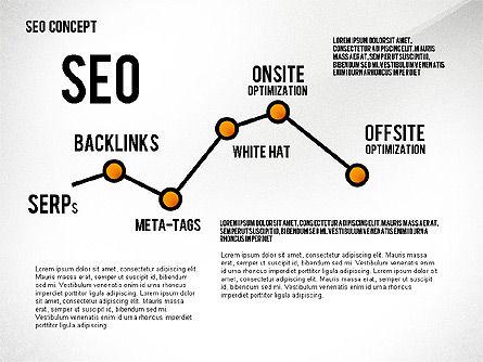 SEO Concept Presentation Template, Slide 5, 02595, Presentation Templates — PoweredTemplate.com
