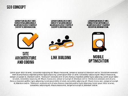 SEO Concept Presentation Template, Slide 7, 02595, Presentation Templates — PoweredTemplate.com