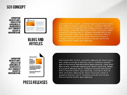 SEO Concept Presentation Template, Slide 8, 02595, Presentation Templates — PoweredTemplate.com