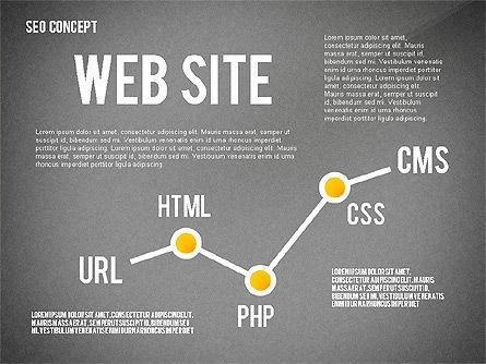 SEO Concept Presentation Template, Slide 9, 02595, Presentation Templates — PoweredTemplate.com