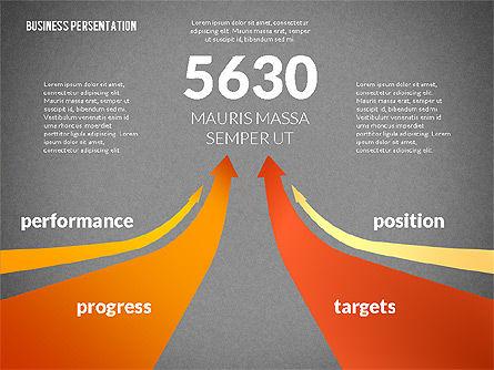 Business Progress Presentation Template, Slide 11, 02597, Presentation Templates — PoweredTemplate.com