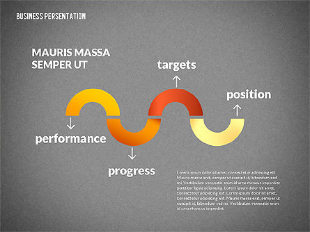 Business Progress Presentation Template, Slide 15, 02597, Presentation Templates — PoweredTemplate.com