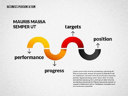 Business Progress Presentation Template, Slide 7, 02597, Presentation Templates — PoweredTemplate.com